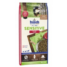 Bosch Sensitive с ягнёнком и рисом сухой корм для собак