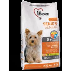 1st Choice Senior д/пожилых собак миниатюрных и мелких пород