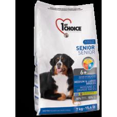 1st Choice для пожилых собак средних и крупных пород