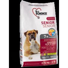 1st Choice для здоровья кожи и шерсти пожилых собак