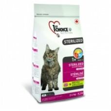 1st Choice для стерилизованных кошек «Курица с бататом»