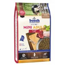 Bosch Mini Adult с ягнёнком и рисом сухой корм для собак