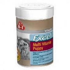 8 in 1 Эксель мультивитамины для щенков, 100 таб