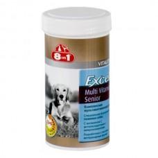 8 in 1 Эксель мультивитамины для пожилых собак,70 таб