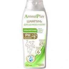Animal Play Шампунь гипоаллергенный для щенков и котят 250 мл