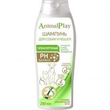 Animal Play Шампунь гипоаллергенный для собак и кошек 250 мл