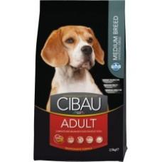 Cibau корм для взрослых собак средних пород(Adult Medium)