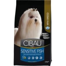 Cibau корм для взрослых собак мелких пород с Рыбой