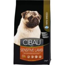 Cibau для взрослых  собак мини пород с Ягненком