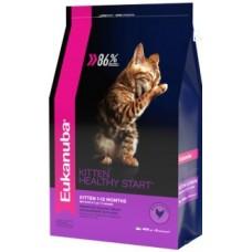 EUK Cat сухой корм для Котят с домашней птицей (В АССОРТИМЕНТЕ)