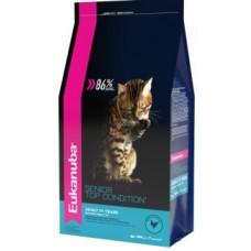 EUK Cat корм для пожилых кошек 7+ с домашней птицей(В АССОРТИМЕНТЕ)