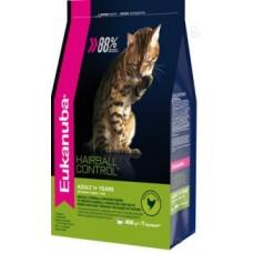 EUK Cat корм хэйр болл с домашней птицей для домашних кошек(В АССОРТИМЕНТЕ)