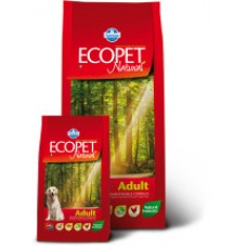 Ecopet Natural Adult корм для взрослых собак с Курицей 12кг