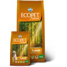 Ecopet Natural Lambдля собак  с ягненком 12кг