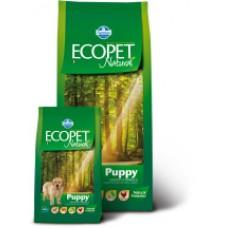 Ecopet Natural Puppy корм для щенков с Курицей 12кг