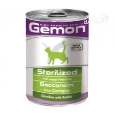 Gemon Cat Sterilised консервы для стерилизованных кошек 415г