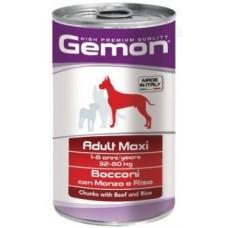 Gemon Dog Maxi консервы  для собак крупных пород  говядина 1250г