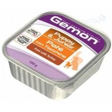 Gemon Dog консервы для щенков паштет индейка 150г