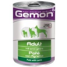 Gemon Dog консервы для собак паштет ягненок 400г
