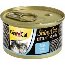 GimCat ShinyCat консервы для котят 70 г