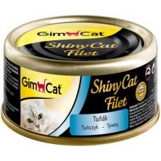 GimCat ShinyCat Filet консервы для кошек  70 г