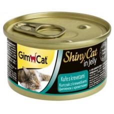GimCat ShinyCat консервы для кошек 70 г