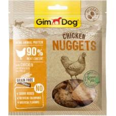 """GimDog  (лакомство) куриный для собак - """"наггетсы"""" 55 г"""