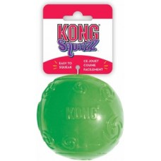 Kong игрушка для собак Сквиз Мячик резиновый с пищалкой (в ассортименте)