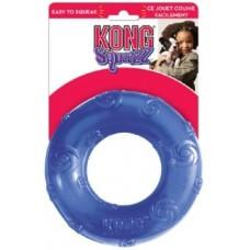 Kong игрушка для собак Сквиз Кольцо d 16 см