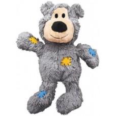 """Kong игрушка для  собак """"Мишка"""" плюш с канатом внутри (в ассортименте)"""