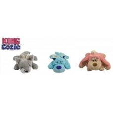 """Kong игрушка для собак """"Кози Пастель"""" (волк, коала, кролик) плюш"""