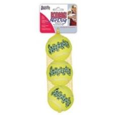 """Kong игрушка для собак Air """"Теннисный мяч""""  (в упаковке 3 шт), (в ассортименте)"""