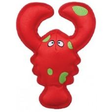 Kong игрушка для собак Belly Flops Лобстер 21 х 9 см