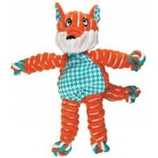 Kong игрушка для собак Floppy Knots Лиса малая 24 х 15 см