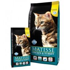 Matisse для взрослых кошек Курица и индейка