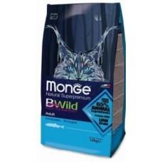 Monge BWild Cat корм для взрослых кошек с анчоусами