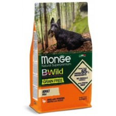 Monge BWild GF беззерновой корм для взрослых собак мелких