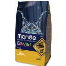 Monge Bwild Cat корм для взрослых кошек с мясом зайца
