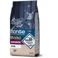 Monge Cat LG низкозерновой корм из мяса гуся для котят 1,5 кг