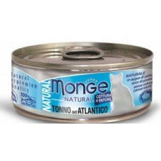 Monge Cat Natural консервы для кошек атлантический тунец 80 г