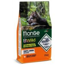 Monge Dog BWild GRAIN FREE  корм для щенков всех пород