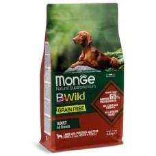Monge Dog BWild GRAIN FREE корм для взрослых собак всех пород