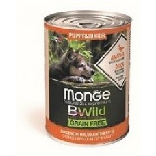 Monge Dog BWild GRAIN FREE Puppy&Junior 400г конс. для щенков