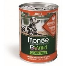 Monge Dog BWild GRAIN FREE беззерновые консервы для собак
