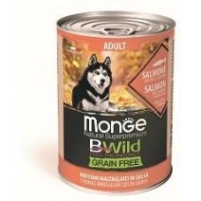 Monge Dog BWild GRAIN FREE беззерновые консервы взрослых собак