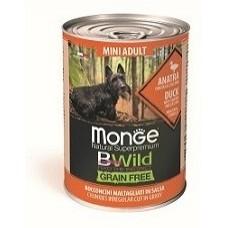 Monge Dog BWild GF беззерновые консервы собак мелких пород