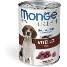 Monge Dog Fresh Chunks in Loaf конс для собак мясной рулет 400г