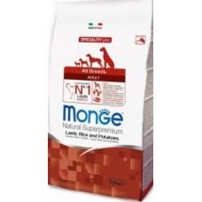 Monge Dog Speciality корм для собак всех пород ягненок с рисом и картофелем(В АССОРТИМЕНТЕ)