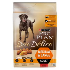 PRO PLAN DUO DELICE сухой  для собак Говядина с Рисом