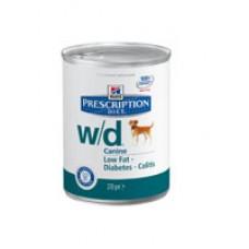 Хиллс для собак Prescription Diet™ Canine w/d™ конс 370гр